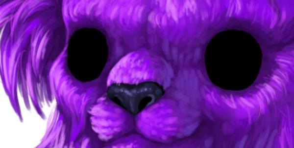 digital painting creature nose