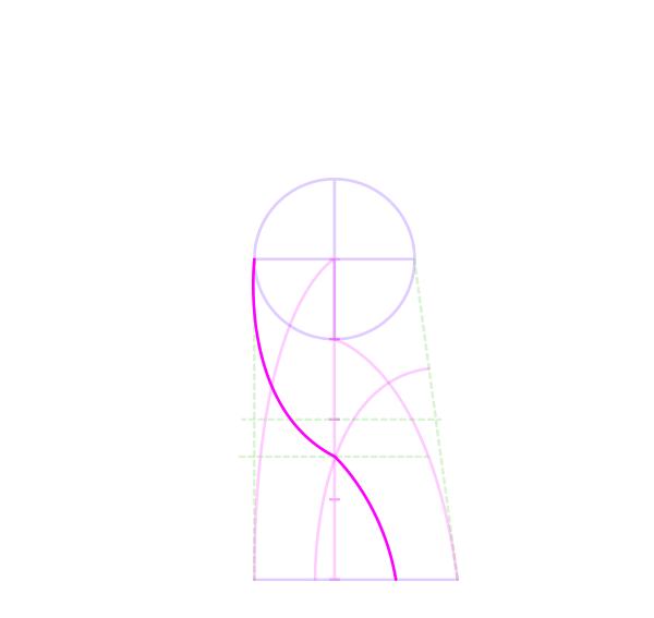 draw vaul boy fallout leg curve inner rigt