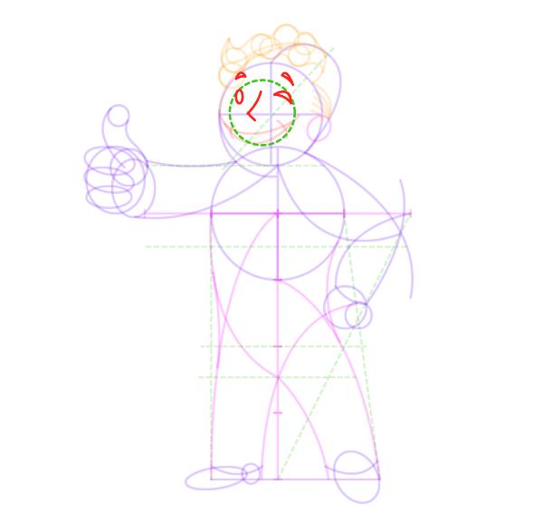 draw vaul boy fallout face