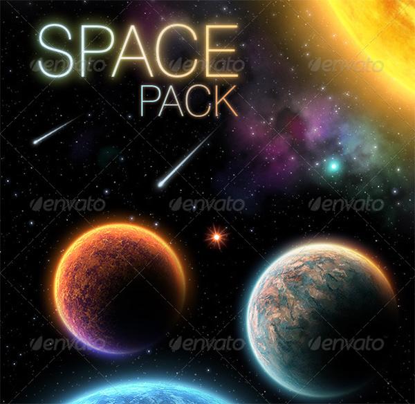 space palnets graphics downlaod