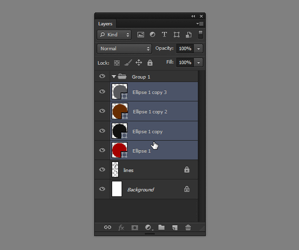 draw vector deadpool photoshop select layers