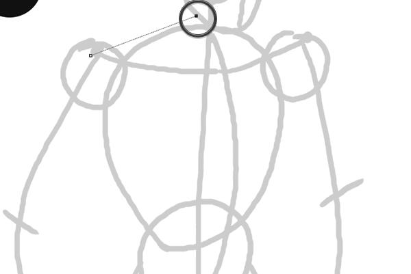 draw vector deadpool photoshop how to create line pen tool