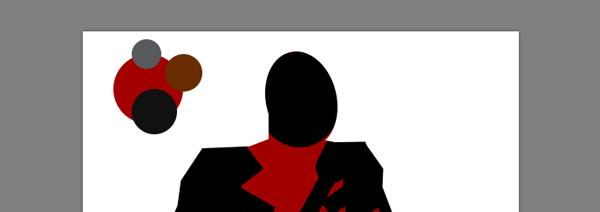 draw vector deadpool photoshop head ellipse