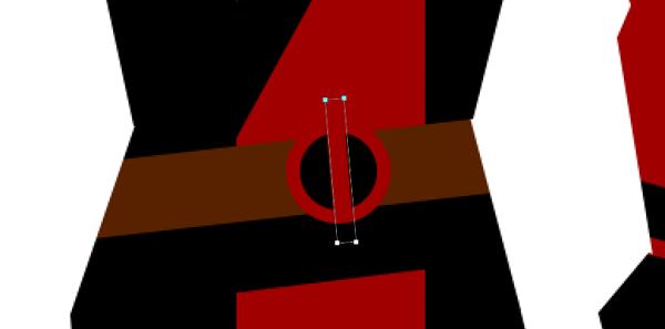 draw vector deadpool photoshop middle stripe