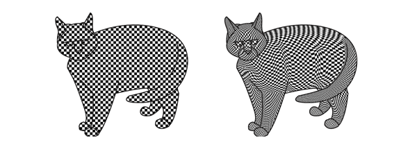 optical illusions how to use pattern to create 3d effect