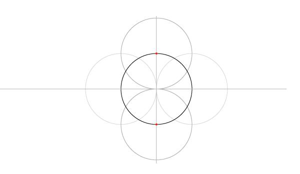 Five-Circle Grid step 4