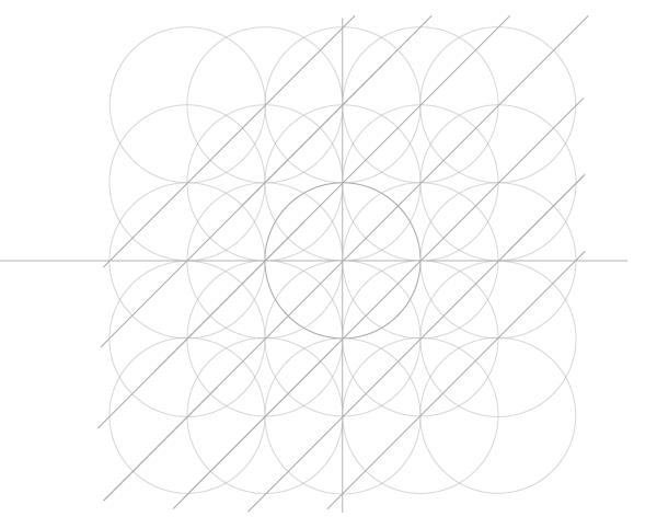 Five-Circle Grid step 9