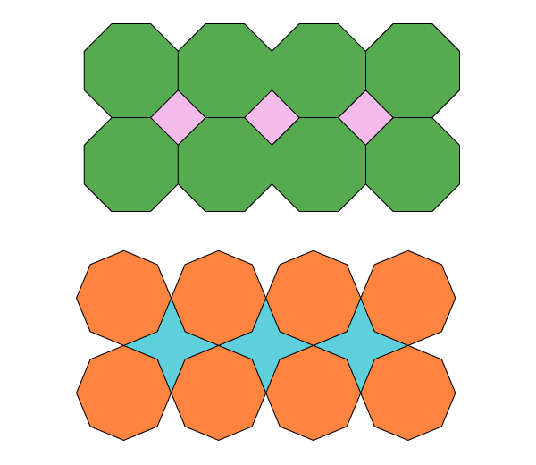 Non-tessellating shapes