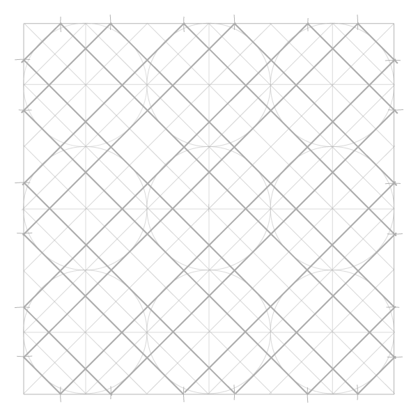 Tiled Static Octagons step 4