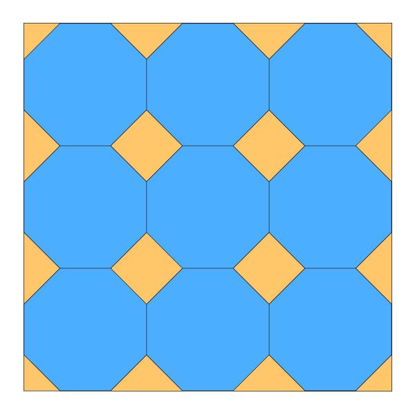 Finished pattern