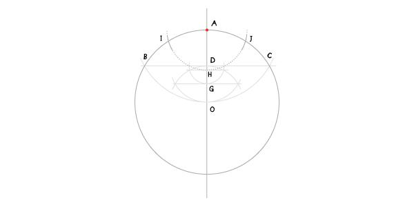 Hendecagon step 7