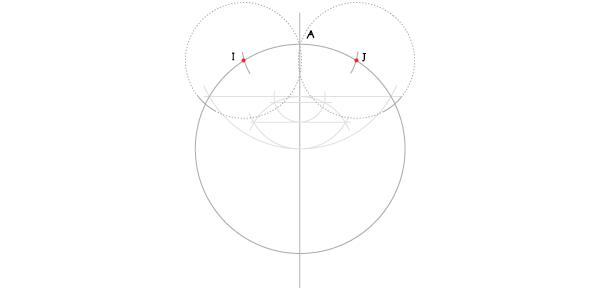 Hendecagon step 8
