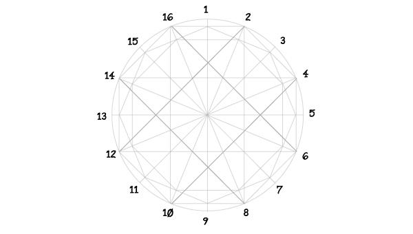 Rosette window step 10