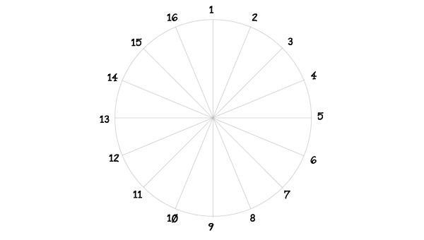 Rosette window step 5