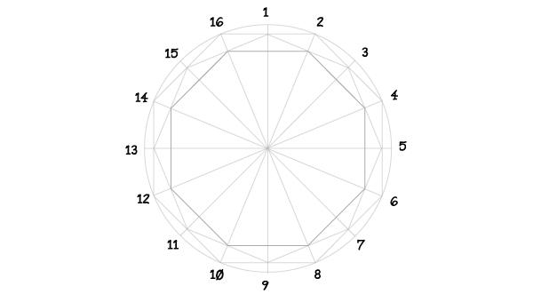 Rosette window step 8