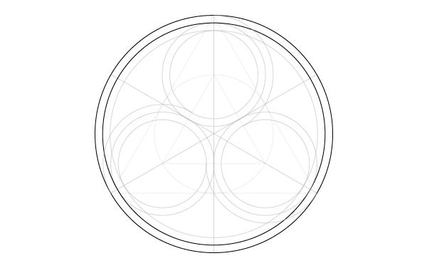 Triskele window step 14