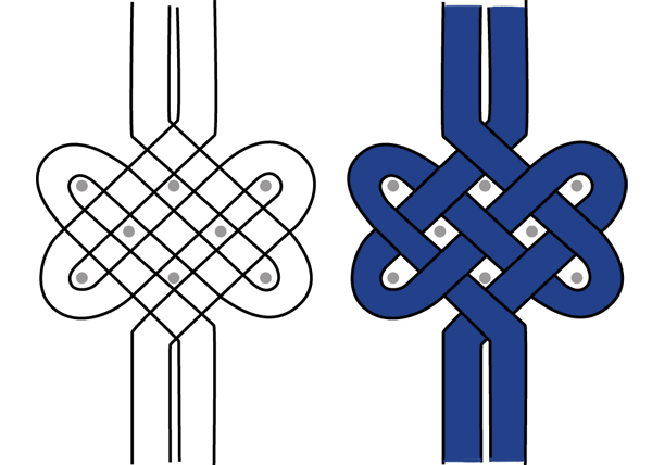 Arabic Calligraphy Embellishments Tutorial Knotwork step 6