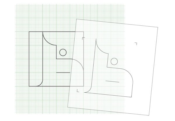 Arabic Calligraphy Ornaments Tutorial Transfer step 3