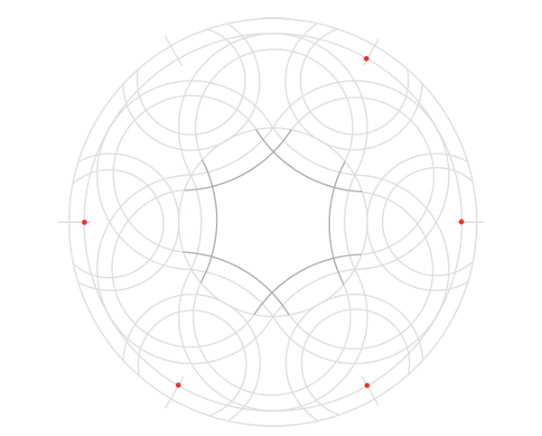 Knot in circle step 11b