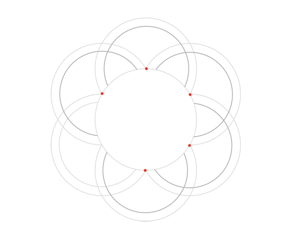 Knot in circle step 2b