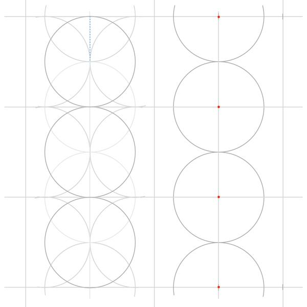 Rosette in rectangle step 10