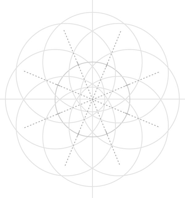 Armenian knot step 12
