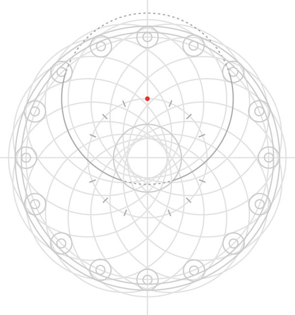 Armenian knot step 22