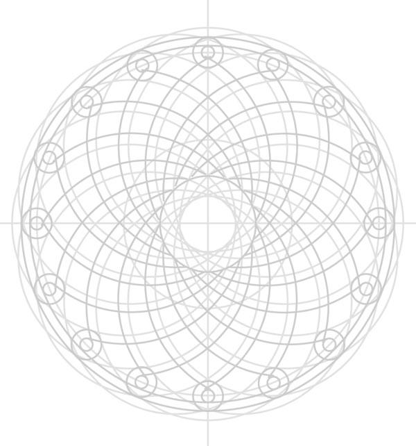 Armenian knot step 24