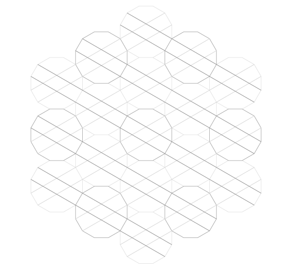 Pattern from the Cordoba Synagogue step 13