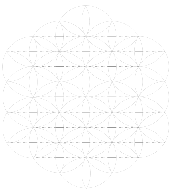 Pattern from the Cordoba Synagogue step 7