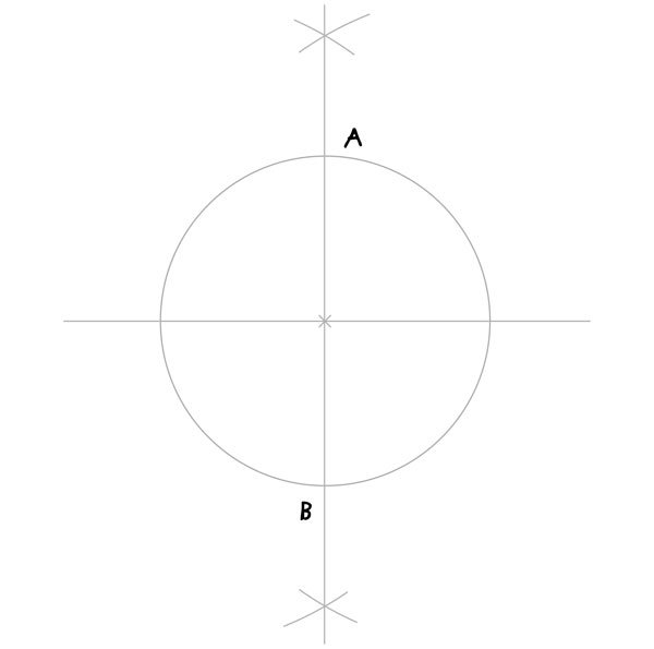 Tenfold Star in a Rectangle step 1