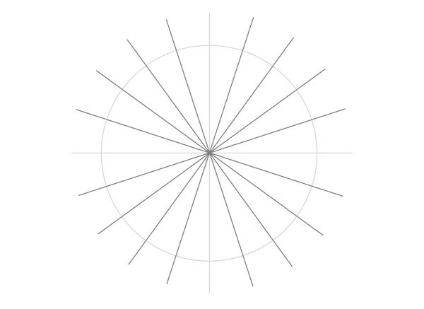 Tenfold Star in a Rectangle step 13