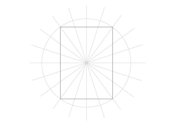 Tenfold Star in a Rectangle step 14