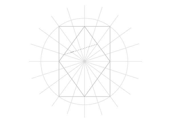 Tenfold Star in a Rectangle step 16