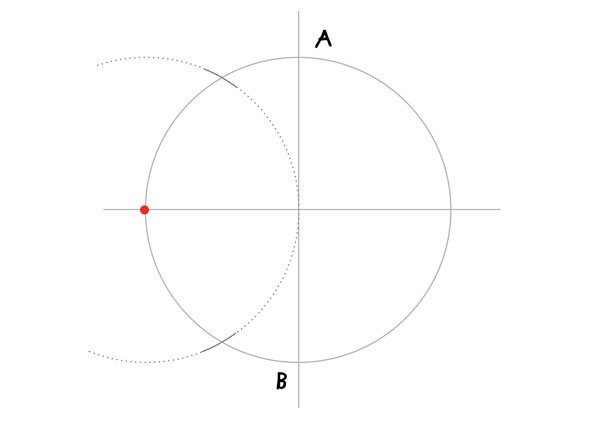 Tenfold Star in a Rectangle step 2