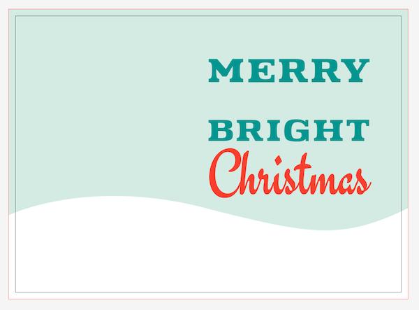 Merry Bright Christmas