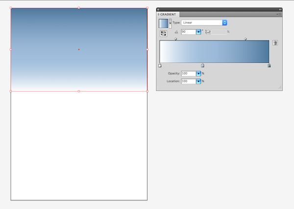 creating first background gradient