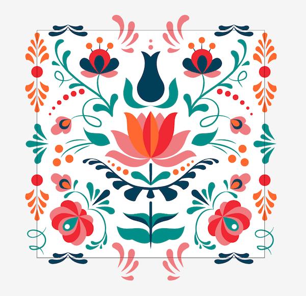 pattern swatch