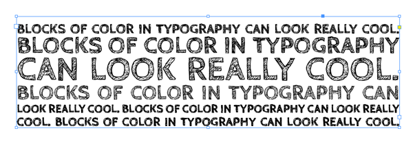 CabinSketch text frame