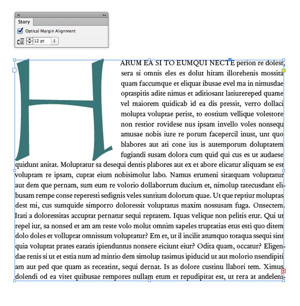 Optical Margin Alignment