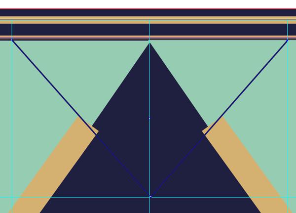 creating a triangle shape