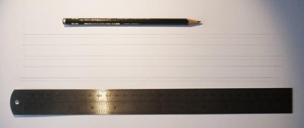 drawing narrow lines