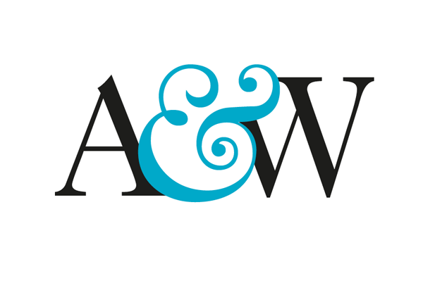 exaggerated ampersand