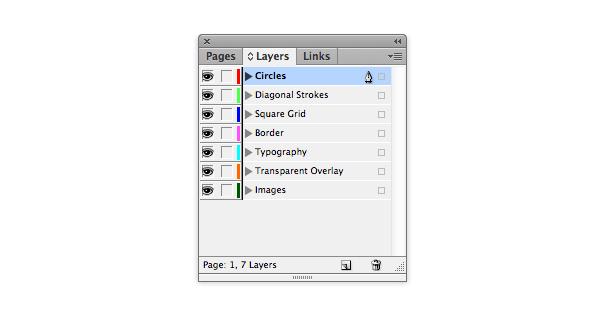layers panel - unlocked