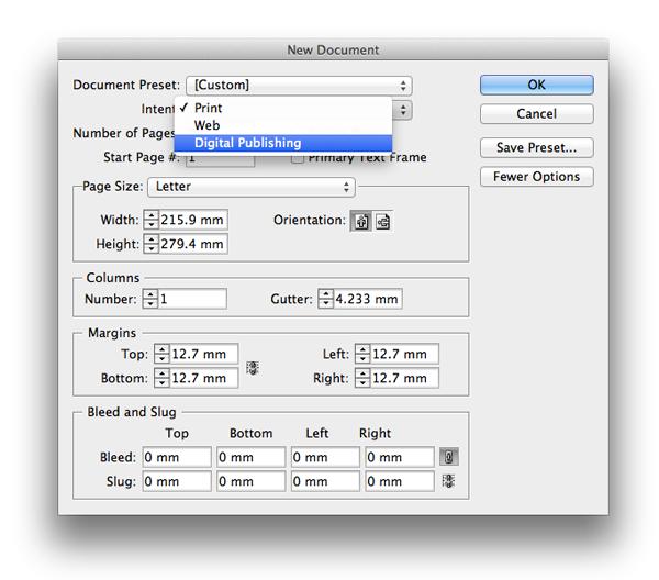 digital publishing mode