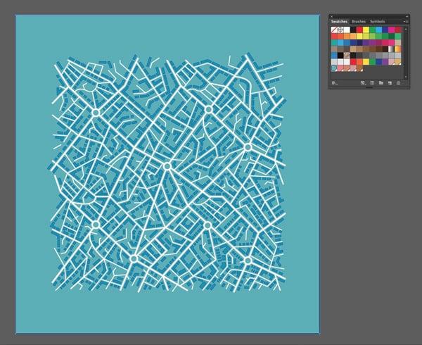 map in Illustrator