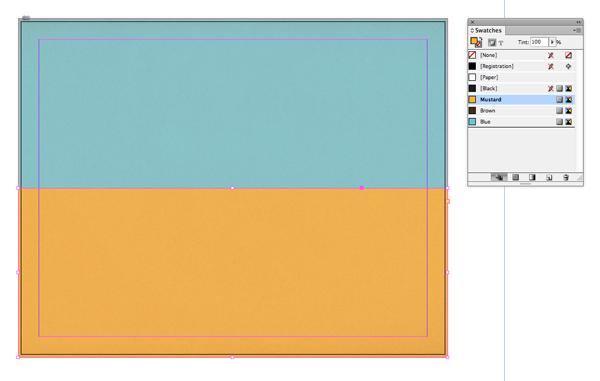 mustard rectangle