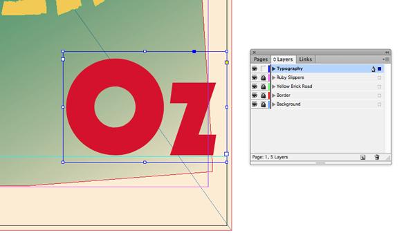 oz text frame