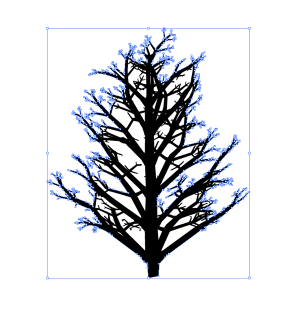 tree graphic selected