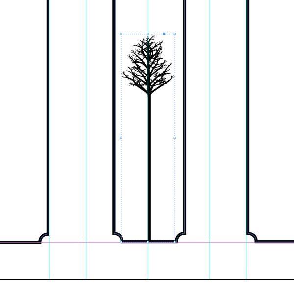 tree on spine